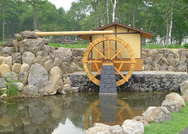 南牧村 水車