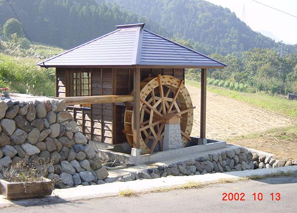 飯山市 福島新田の水車小屋